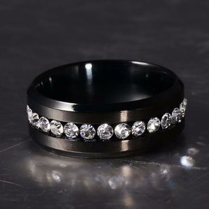 Other - Stainless Steel Wedding Engagement Band / Size: 13